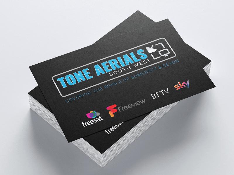 Tone Aerials Business Cards