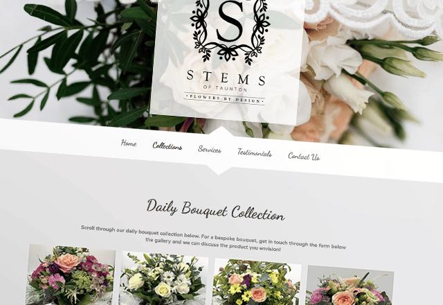 Stems Floristry Company Website