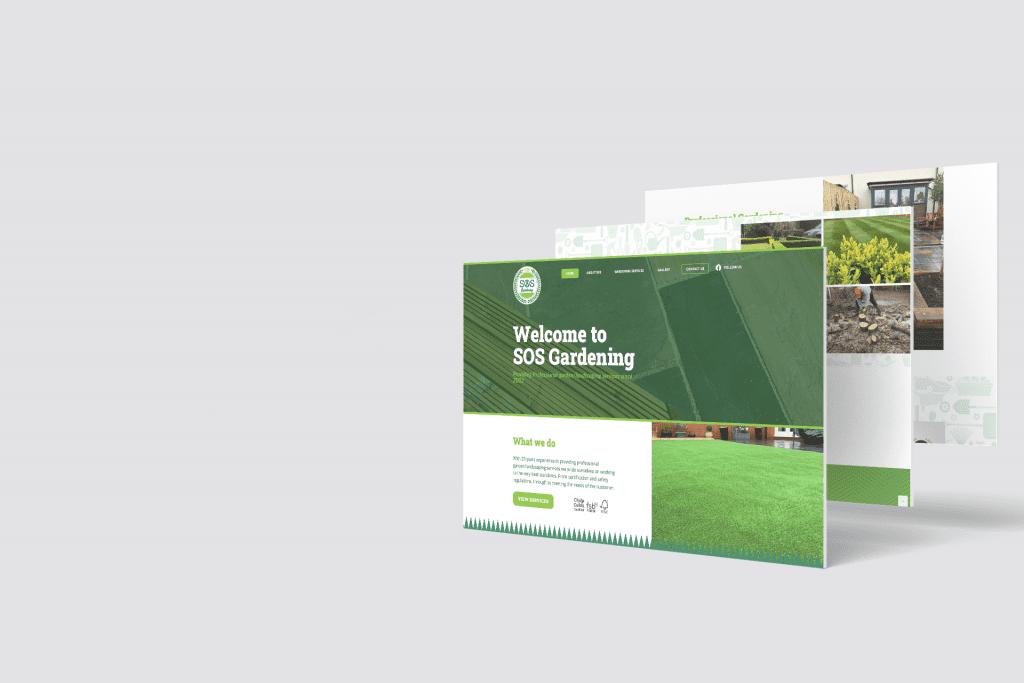 SOS Gardening Website
