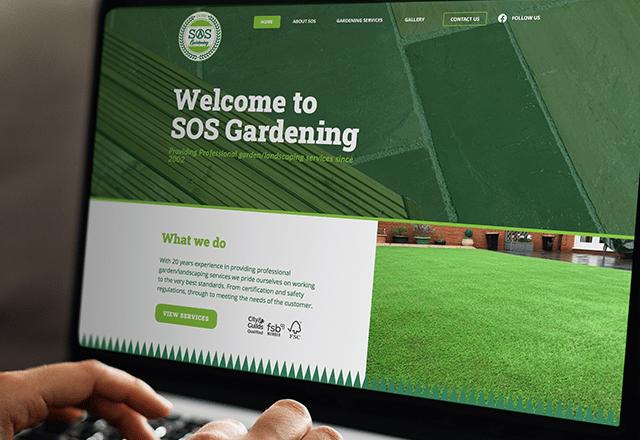 Responsive Landscape Gardening Website