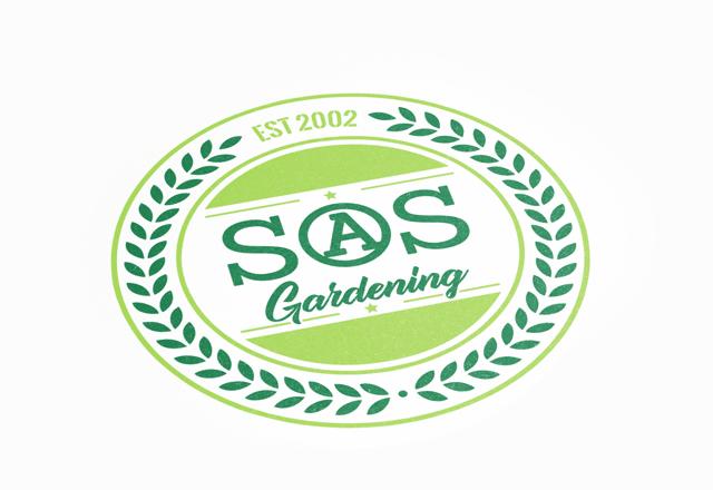 SOS Gardening Logo