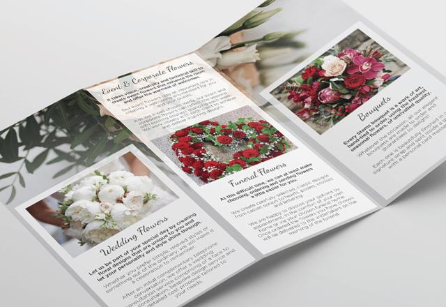 Stems Trifold leaflet
